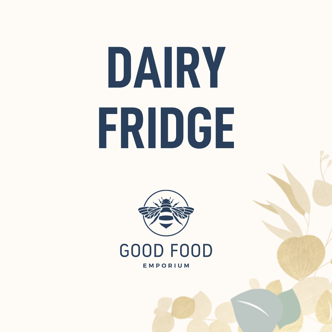Good Food Emporium Shop Dairy Fridge